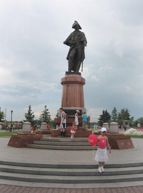 Памятник Резанову в Красноярске